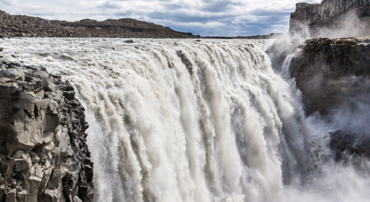 The largest waterfall in Europe